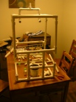 Unfinished incubator - frame